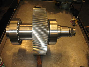 Helical Bull Gear for a Sumitomo Gearbox Repair