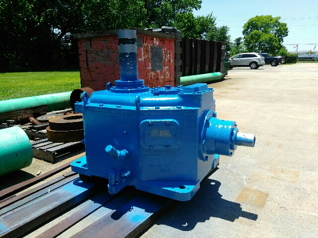 Amarillo Double-Reduction Cooling Tower Gearbox Repair