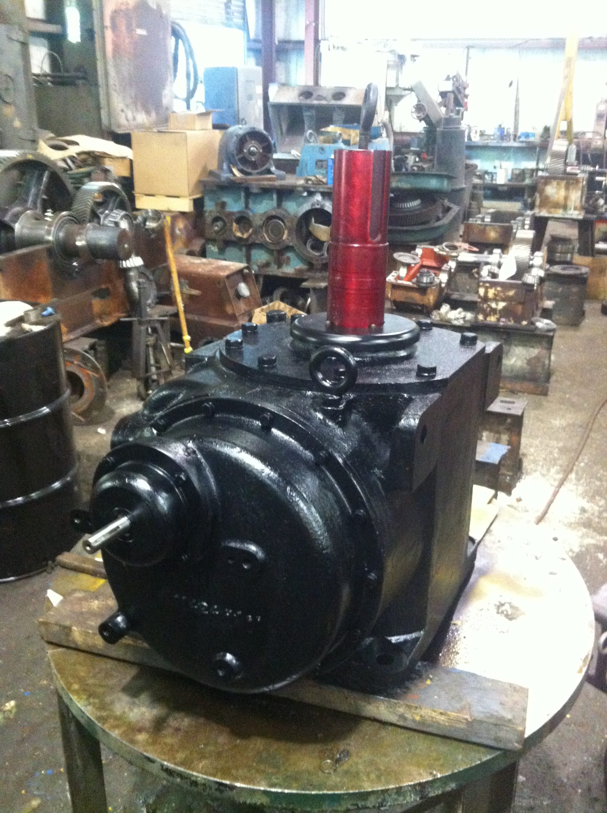 Falk Preheater Gearbox Repair