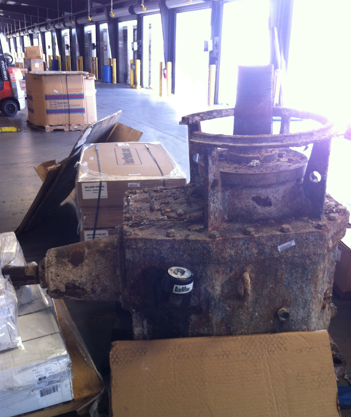 Before: Falk Hydrapulper Gearbox Repair
